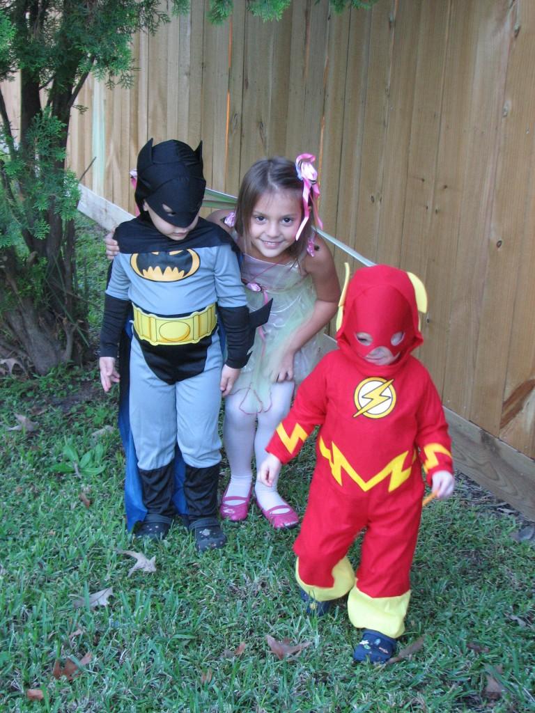 kids on halloween 2009