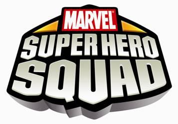 Marvel super hero squad logo