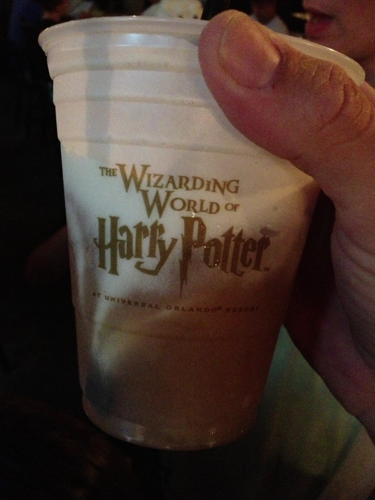 butterbeer from three broomsticks