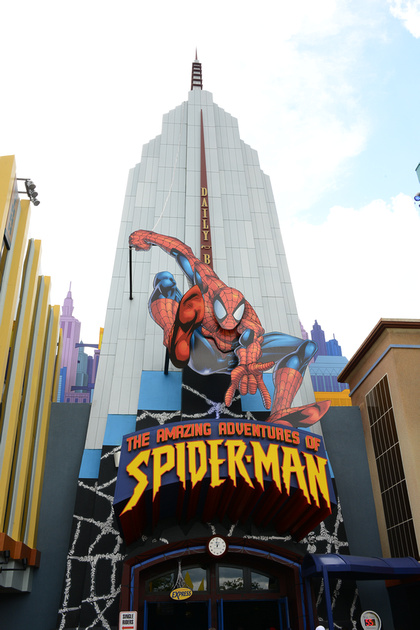spiderman attraction at universal studios orlando